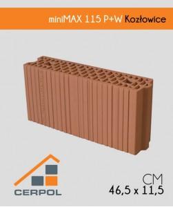 Cerpol miniMAX 115 P+W Pustak ceramiczny Kozłowice