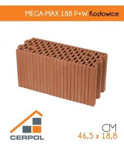 Cerpol MEGA-MAX 188 P+W pustak ceramiczny Kozłowice