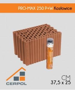 Cerpol PRO-MAX 250 P+W pustak szlifowany ceramiczny Kozłowice