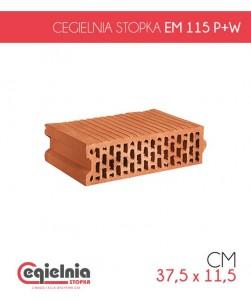 Pustak ceramiczny Cegielnia Stopka EM 115 P+W