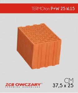 ZCB Owczary TERMOton P+W 25 pustak ceramiczny klasa 15