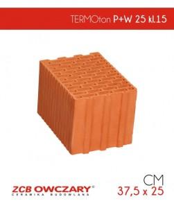 ZCB Owczary pustak ceramiczny klasa 15 TERMOton P+W 25