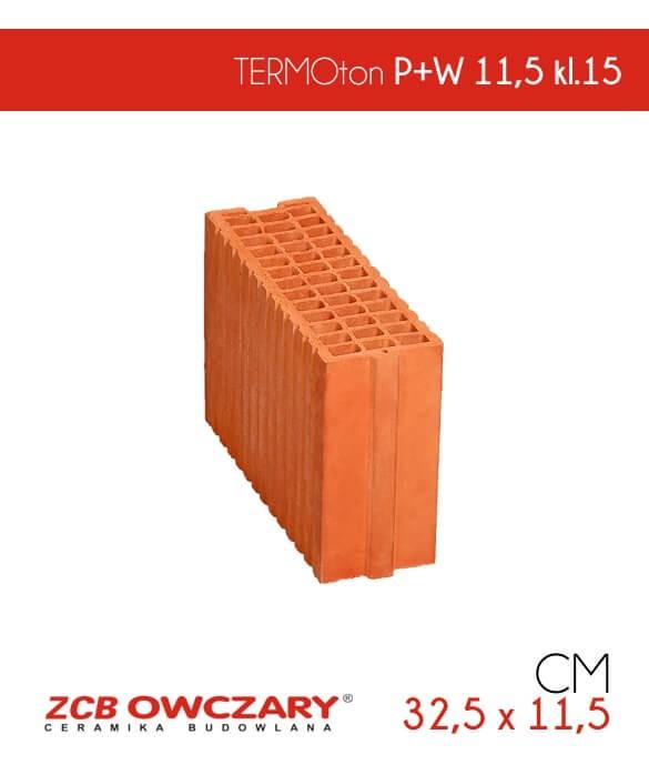 TERMOton pustak ceramiczny P+W 11,5 klasa 15 ZCB Owczary