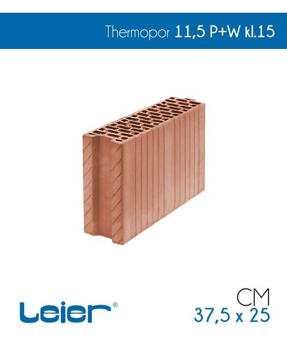 Leier pustak ceramiczny Thermopor 11,5 P+W cena