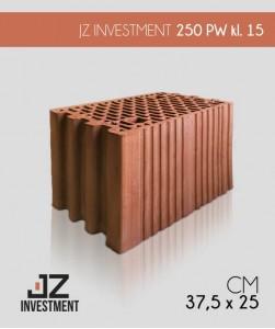Pustak ceramiczny 25 cm P+W klasa 15 JZ Investment
