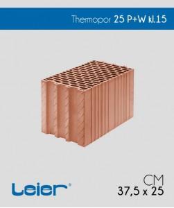 Leier Thermopor 250 mm P+W klasa 15 pustak ceramiczny