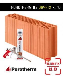 Porotherm 11,5 Dryfix pustak ceramiczny szlifowany