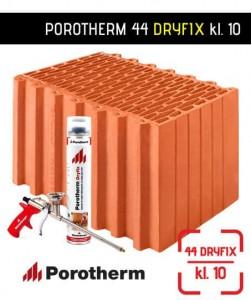 Porotherm 44 Dryfix pustak ceramiczny