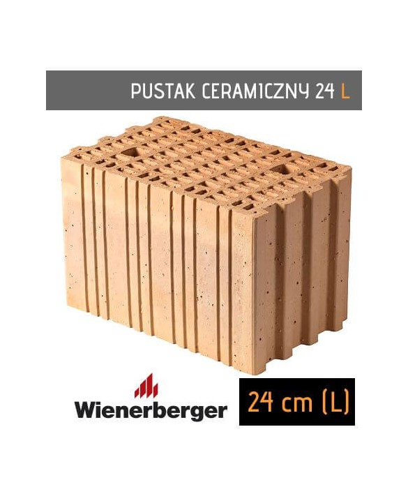 pustak ceramiczny 24L Long Wienerberger Reetz