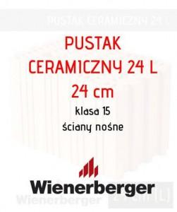 tani pustak ceramiczny 24L Long Wienerberger Reetz 24 cm