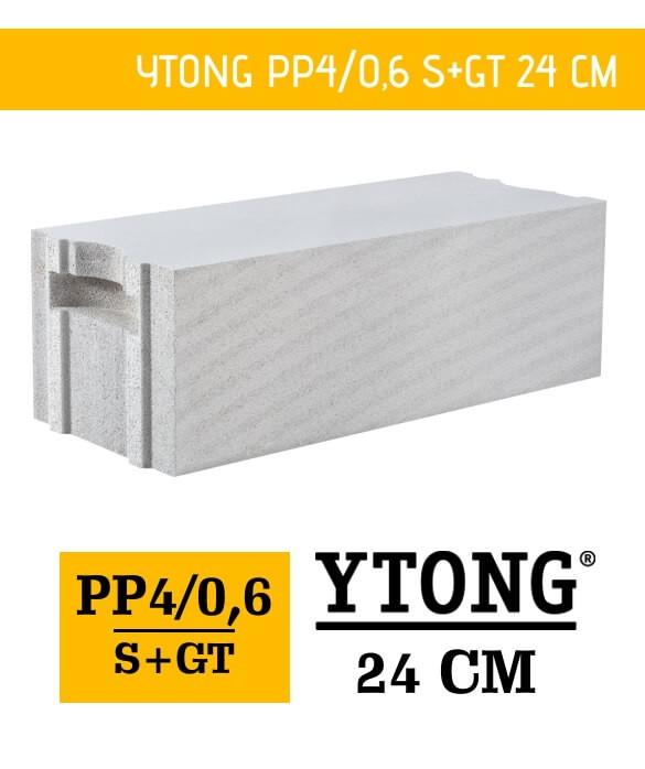 Ytong 24 PP4/06 S+GT bloczek beton komórkowy