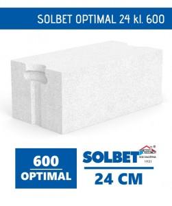 Solbet Optimal 24 600 bloczek beton komórkowy