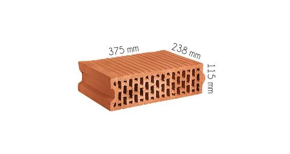 Cegielnia Stopka wymiary pustak ceramiczny EM 115 P+W