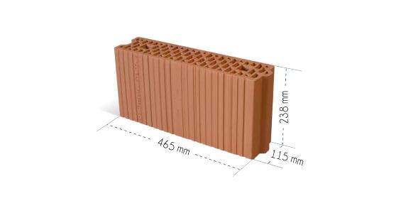 Cerpol miniMAX 115 P+W Kozłowice wymiary pustaka